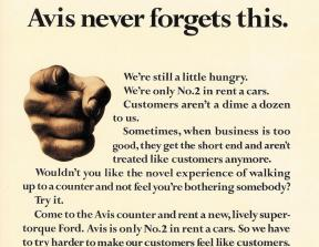"Avis - ""We try harder""<br />photo credit: sellsellblog.blogspot.com"