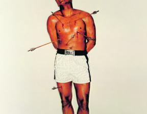 "Esquire Cover – 04/68 ""Ali as St. Sebastian""<br />photo credit: georgelois.com"