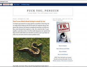 Fuck You, Penguin<br />