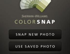 Sherwin-Williams - &quot;ColorSnap&quot; App<br />