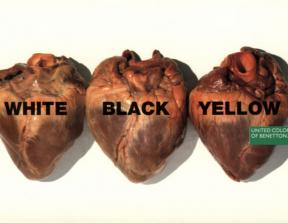 "United Colors of Benetton - ""Hearts""<br />photo credit: wonderties.com"