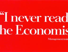The Economist - Print Ads<br />