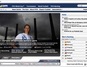 FIFA.com<br />