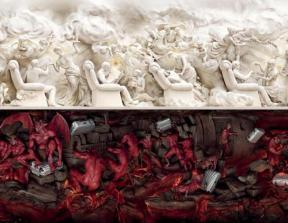 Samsonite - &quot;Heaven and Hell&quot;<br />photo credit: theinspirationroom.com