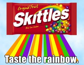 Skittles Campaign<br />