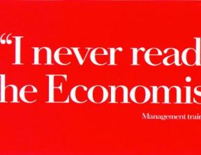 The Economist - &quot;Management Trainee&quot;<br />photo credit: adsoftheworld.com