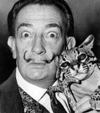 Salvador Dalí<br />photo credit: Wikipedia