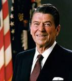 Ronald Reagan<br />photo credit: Wikipedia