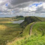Hadrian&#039;s Wall, England<br />photo credit: Wikipedia