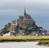 Mont Saint-Michel, Normandy, France<br />photo credit: Wikipedia