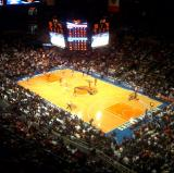 Front Row Seeats at Knicks Games