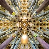 Sagrada Família, Barcelona, Spain<br />photo credit: Wikipedia