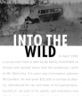 Into the Wild<br />photo credit: Wikipedia