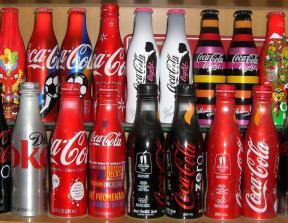 Coca-Cola Aluminum Bottles<br />photo credit: redlabels-bottle.blogspot.com