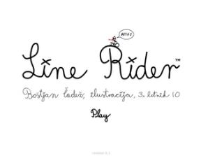 Line Rider<br />photo credit: Wikipedia
