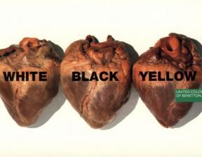 "United Colors of Benetton - ""Hearts""<br />photo credit: wonderties.com"