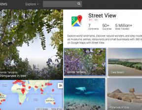 Google Streetview<br />