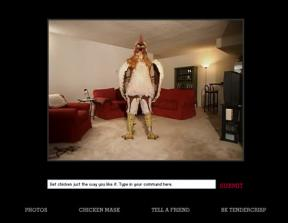 """Burger King - """"Subservient Chicken""""<br />"""