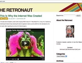 The Retronaut<br />