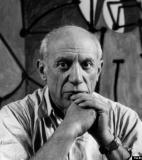 Pablo Picasso<br />photo credit: biography.com