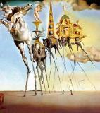Salvador Dalí<br />photo credit: Wikipedia