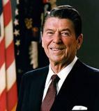 Ronald Reagan<br />photo credit: Wikipedia
