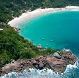 Angra dos Reis in Rio de Janeiro, Brazil - anchored by the sea.<br />photo credit: biosferabrasil.com