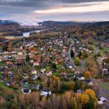 Borlänge, Sweden<br />photo credit: dronestagr.am