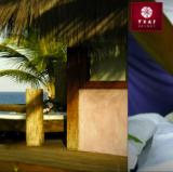A Massage Bed at Txai Resort in Itacaré, Bahia<br />photo credit: txai.com.br